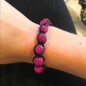 Pink crystal stoned bracelet💅